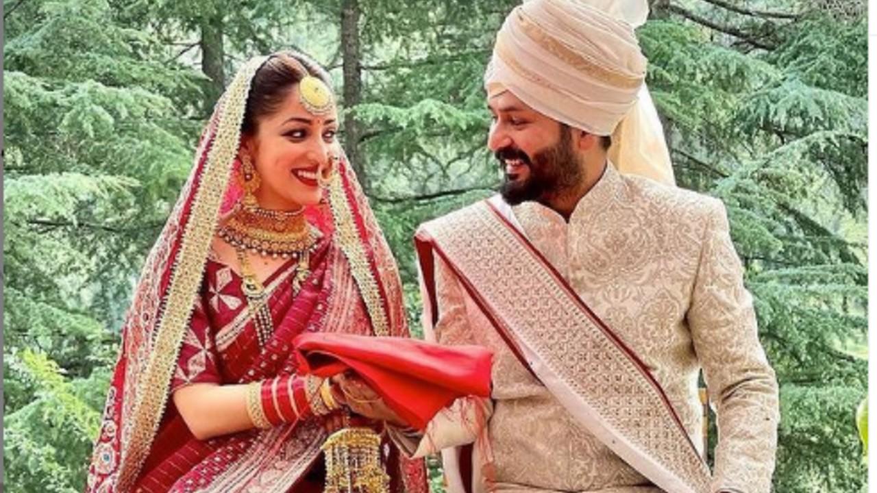 Yami Gautam gets married to Uri director Aditya Dhar in an intimate ceremony