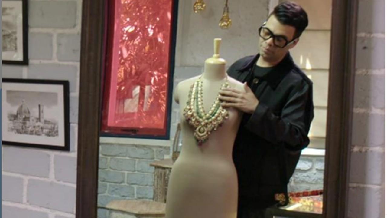 Karan Johar Debuts as a Jewelry Designer